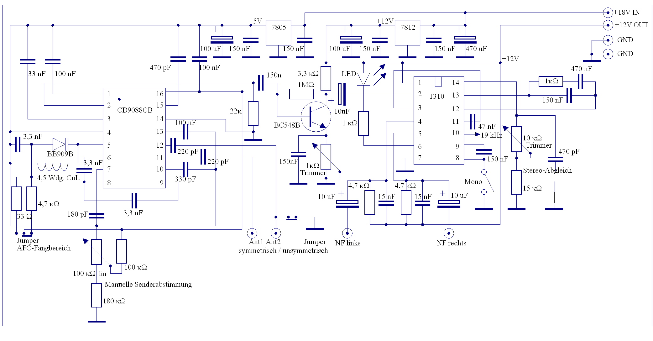 Schematic For Yamaha Stereo